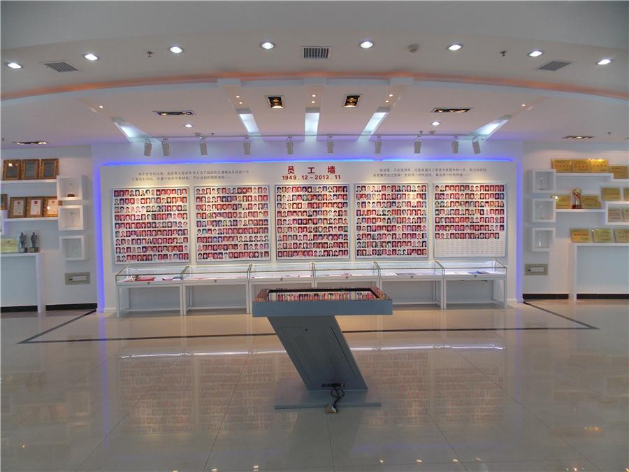 湖南交通院展厅设计与装修