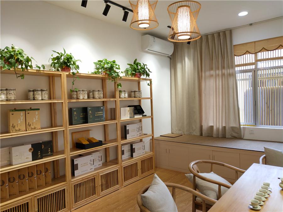 张家界莓茶展示馆设计与装修