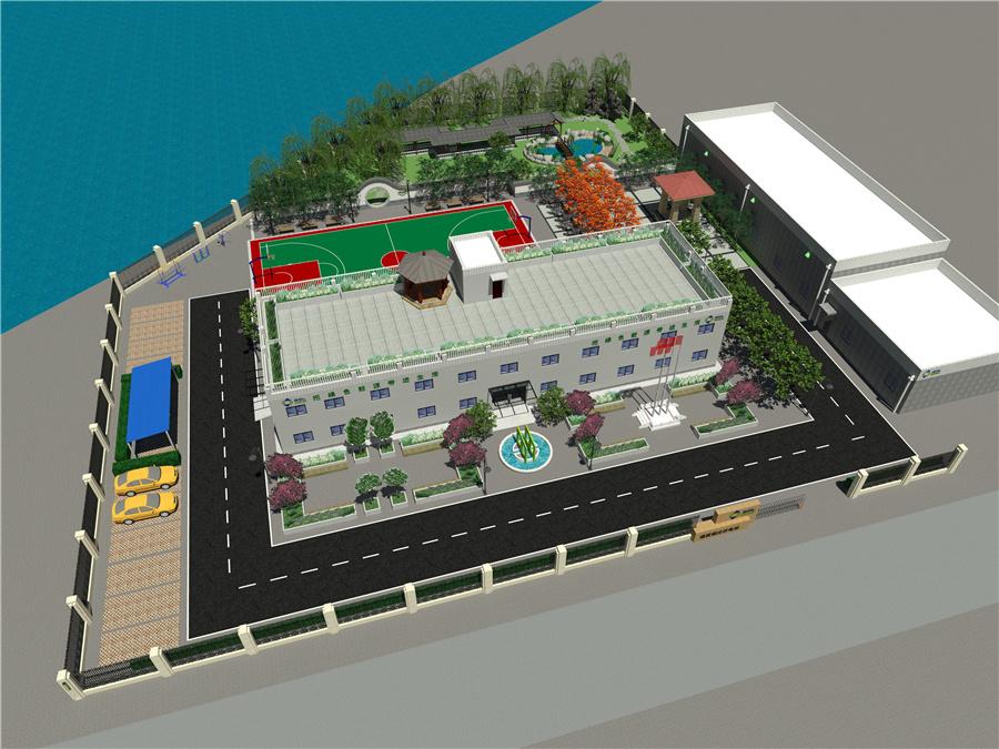 中广核光伏发电站设计与装修