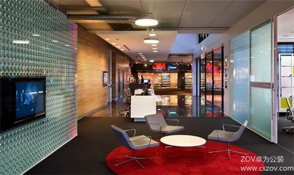 外资企业创意办公室设计