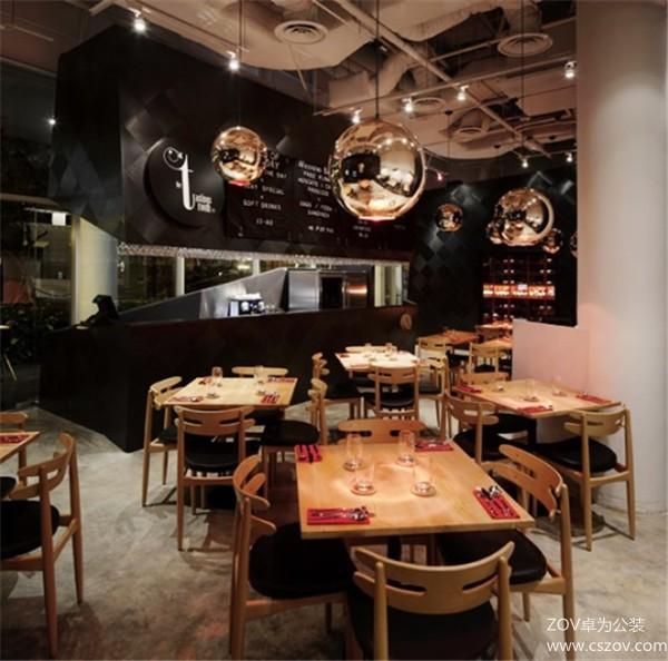 潮流餐厅设计典范