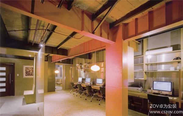 500㎡以下小办公室装修案例