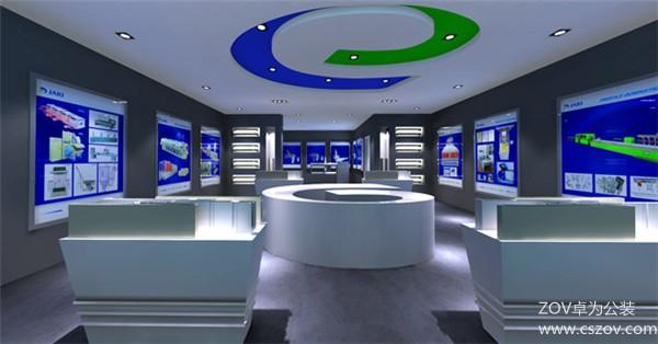 企业展厅装修效果图