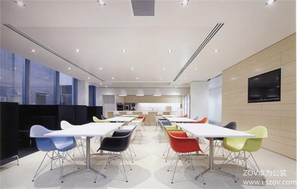 完美搭配的办公空间装修案例
