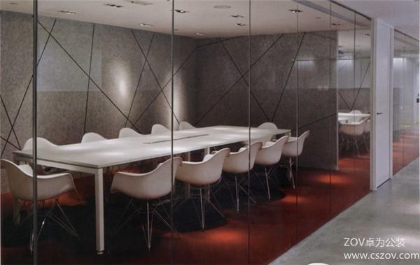 中型科技办公室装修效果图