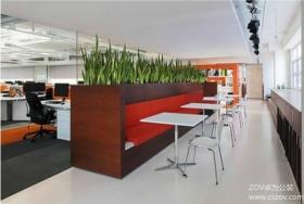用色彩打造现代办公室设计