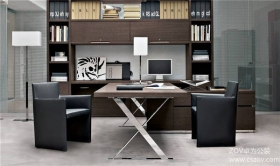 现代日式办公室设计案例