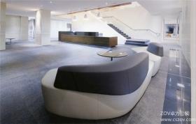 简洁商务办公室设计案例