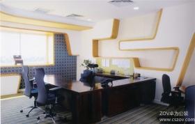 极富色彩感的办公室装修