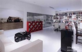 设计公司艺术办公空间装修