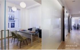 中立的多功能办公室装修效果图