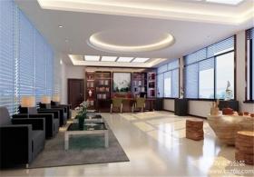 综合型办公空间装修效果图