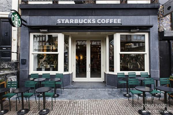 星巴克咖啡厅装修效果图